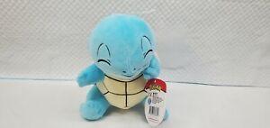 "Authentic Pokemon Plush Squirtle 8"" Stuffed Animal"