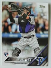 Tony Wolters Topps Rookie Card very good condition