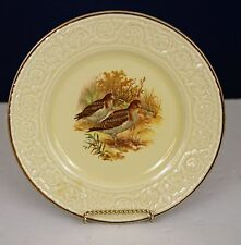 "CROWN DEVON FIELDINGS 8 7/8"" SANDPIPER GAME PLATE NICE!"