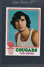 1973/74 Topps #189 Tom Owens Cougars NM/MT *608