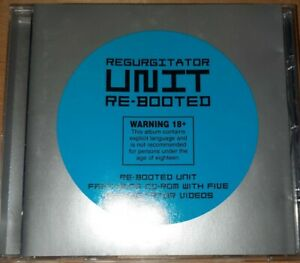 """Regurgitator Unit """"re-booted"""" cd 1997 (cd is scuffed but plays ok)"""