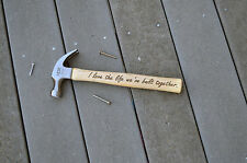 Personalized Hammer, Engraved Hammer, Gift for Dad, Christmas gift for Dad