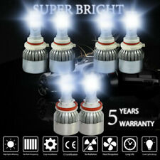 H11+9006+9005 LED Headlights Conversion Kit Bulbs 6000W Headlamp 6000K Foglamp