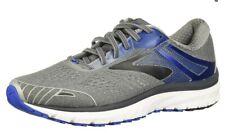 Brooks Adrenaline GTS 18 Gray Blue Black Athletic Running Shoes Men's Size 8 2E