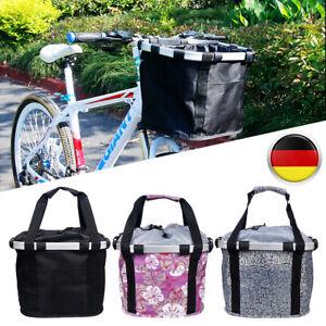 Fahrradkorb Fahrrad Vorne Korb Einkaufskorb Abnehmbare Fahrradtasche  Tasche