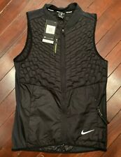 Nike Aeroloft Goose Down Running Vest, New! MSRP $180 - Men's Small