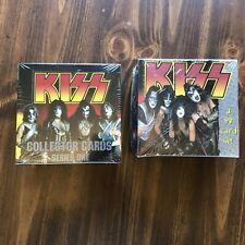 KISS Cards - 2 Sealed Boxes! - Series 1 & 2 - Brand New In Original Shrink Wrap!