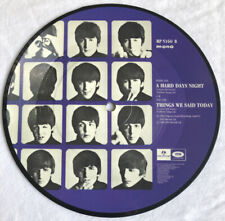 """THE BEATLES - A Hard Days Night - Rare UK 7"""" Picture Disc (Vinyl Record) (Auct)"""