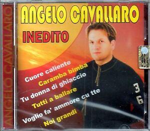 ANGELO CAVALLARO - INEDITO - CD NUOVO SIGILLATO