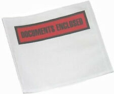 50 A7 Printed Document Enclosed Envelopes Free P&P