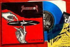 "SCARECROW BLUE VINYL HARD CORE PRIVATE GERMAN 7""  PS EP"