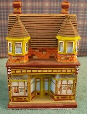 """1/4"""" Scale Meat Shoppe in resin To Create a Village"""