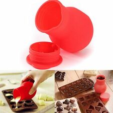 Pouring Cup Pot Milk Silicone Baking Butter Mould Chocolate Melting Cup