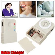 Wireless Mini 8 Multi Voice Changer Digitizer Microphone Disguiser Loudspeaker