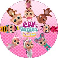 Cry babies Eßbar Tortenaufleger Party Deko Tortenbild Muffin Geburtstag Puppe