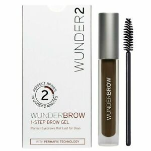 New Lot of 2  Wunder2 Wunderbrow 1-Step Brow Gel  PICK YOUR COLOR + 2X GIFTS