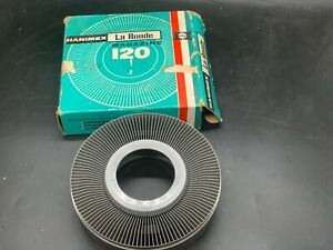 VINTAGE HAMINEX LA RONDE 120 35MM SLIDE MAGAZINE BOXED FOR USE WITH PROJECTORS