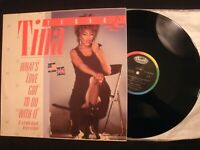 "TINA TURNER - What's Love Got to Do With It -1984 Vinyl 12"" Single/ 80s Pop Rock"