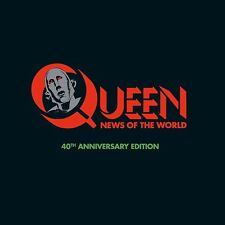 QUEEN - NEWS OF THE WORLD (LIMITED 3CD+DVD+LP SUPER DLX)  4 CD+DVD NEU