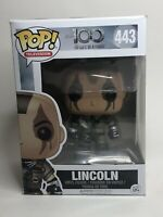 The 100: Lincoln Funko POP Vinyl Figure w/ POP Rare, Vaulted *Box Not Mint*