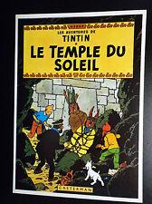 Rare carte postale  Tintin Arno 1981 ETAT NEUF