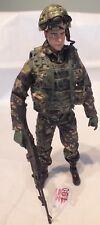 HM Armed Forces Royal Marine Commando Action Figure - British Forces LOT R190