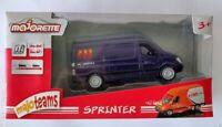 Majorette Mercedes-Benz Sprinter Blue ABX Logistics diecast model car