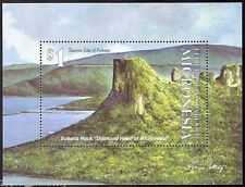 "Micronesia - ""MOUNTAINS ~ SOKEHS ROCK ~ DIAMOND HEAD OF MICRONESIA"" MNH MS 1993"