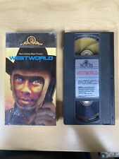 Westworld 1973 Sci Fi film~Yul Brynner~Richard Benjamin~James Brolin (Vhs 1988)