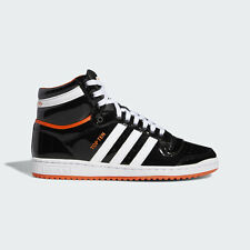 {FV2449} Adidas TOP TEN HI - Black/Orange *NEW*