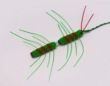 Neko Flies Cat Toys Interchangeable Refill Replacement w/ String Clip Kattipede