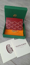 Goyard Card Holder Red