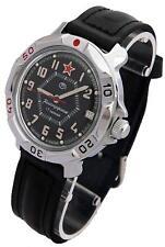 Vostok Komandirskie 811744 / 2414 Military Mechanical Russian Watch Red Star