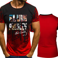 Hot Summer Fashion Elvis Presley Print Short Sleeve T-Shirt Casual Tops Tee