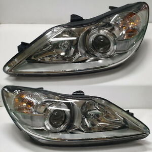 Genuine Head Lamp Light Assembly 2p for 2009 2014 Hyundai Genesis Sedan