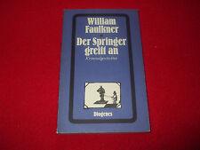 William Faulkner - Der Springer greift an  - Krimi