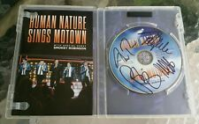 Human Nature Sings Motown with Special Guest Smokey Robinson DVD - AUTOGRAPHED !