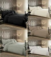 Luxury CAPRICE Signature Duvet Quilt Cover Bedding Sets Silver/White/Black/Cream