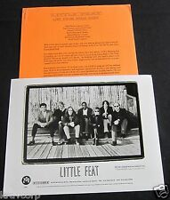 LITTLE FEAT 'LIVE FROM NEON PARK' 1996 PRESS KIT—PHOTO
