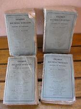 BROUSSAIS  : Examen des DOCTRINES MEDICALES et des systèmes de nosologie 1829