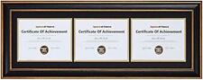 Smooth Wood Grain Frame with Ivory Mat for Photo includes Sawtooth Hangers a
