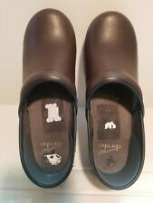 DANSKO Women's Clogs, EXCELLENT SOLES Size 39 EU, Very Nice Brown Leather