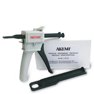 AKEMI manuelle Kartuschenpistole für alle 50 ml Doppelkartuschen10639 Kunststoff