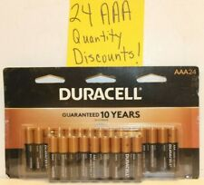 24 Duracell AAA CopperTop Batteries (2 x 12, 4 x 6) Free Ship Fresh! Expire 2028