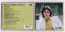 Cd RICCARDO FOGLI Mondo - CGD 1992 Maurizio Fabrizio Pooh