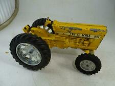 Vintage Diecast Toy Model Farm Tractor Tru Scale International Harvester Yellow