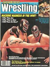 EB1577 Super Machine  Bobby Fulton signed Wrestling Magazine w/COA  History