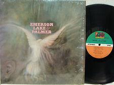 EMERSON, LAKE & PALMER - S/T LP (US Pressing on ATLANTIC, in Shrink, Debut) M--