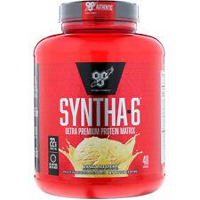 BSN, Finish First Syntha-6, Protein Powder Drink Mix, Vanilla Ice Cream, 5.0 lbs
