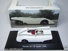 PORSCHE 917 PA SPYDER test Weissach 1969 Edition spazio PORSCHE 10/14 1:43 SPARK